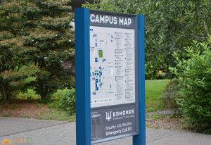 School Signs map directory wayfinding outdoor post panel 300x206